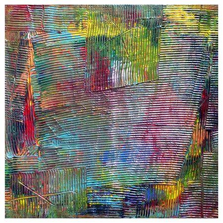 Zhao Mengjun, Edges of Dreams 2017, Acrylic, propylene on canvas, 50 x 50 cm, framed.