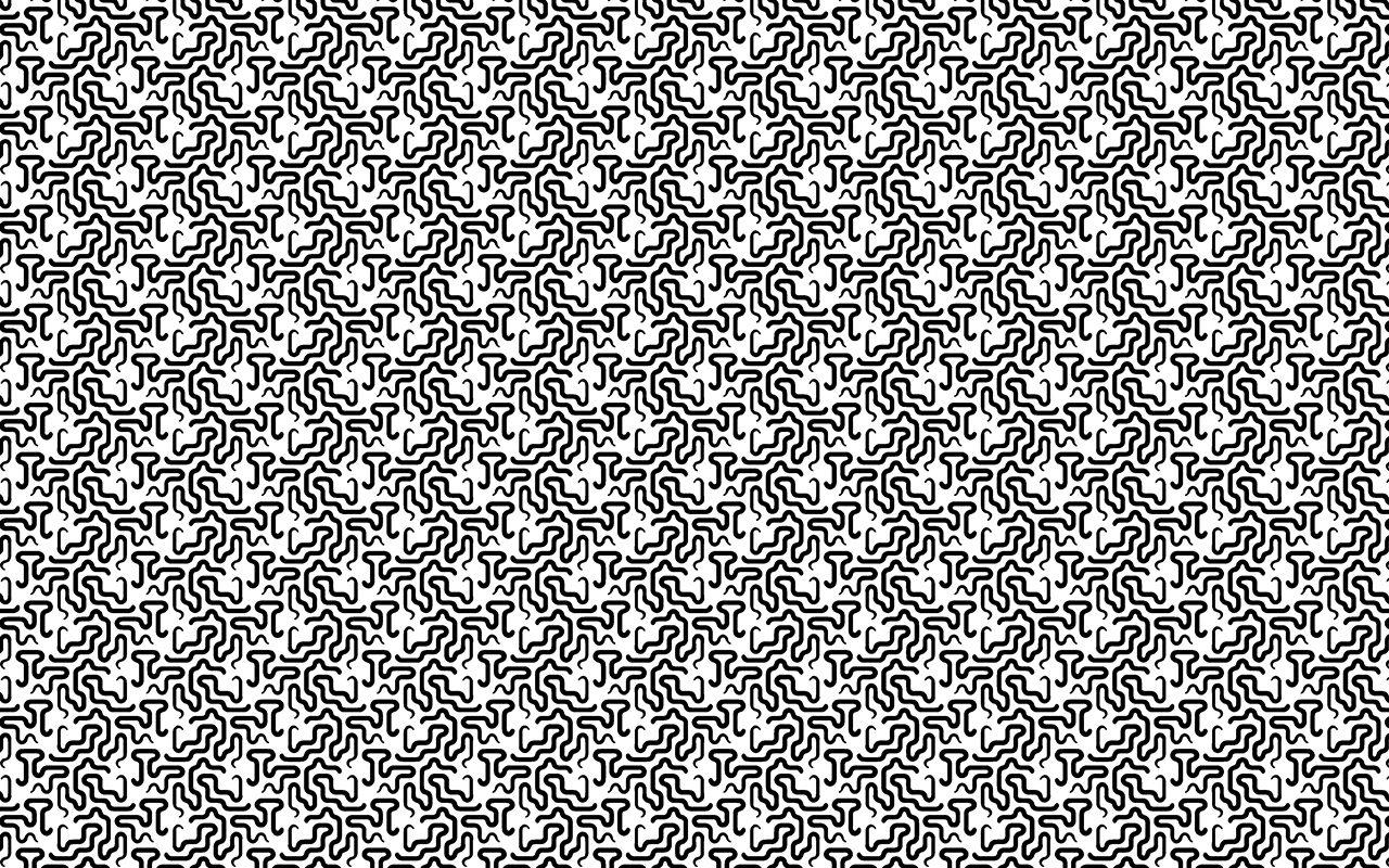 Folke Hanfeld, Pattern Work 04, 2001-1015