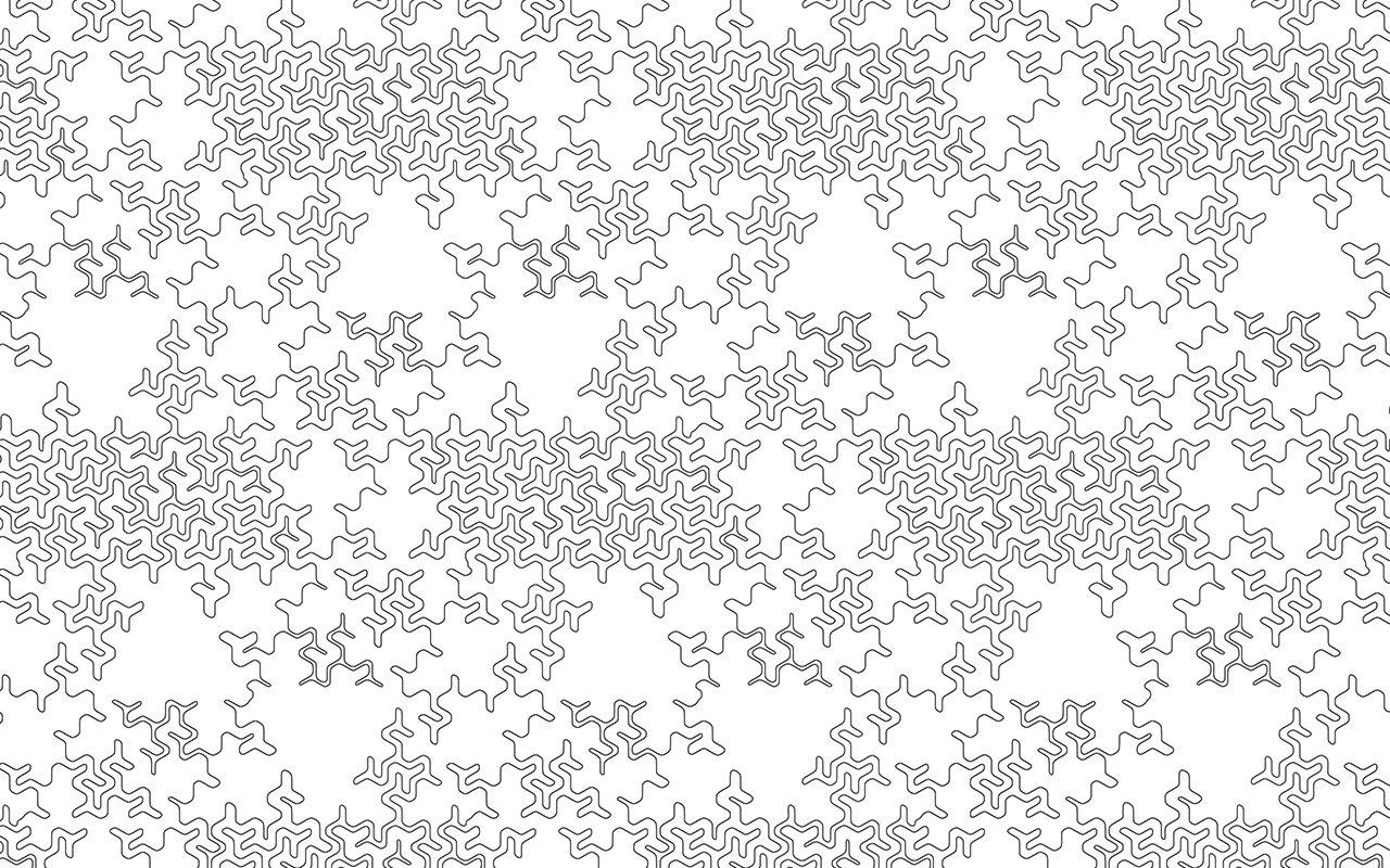 Folke Hanfeld, Pattern Work 03, 2001-2015