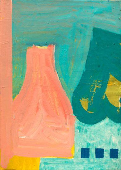 o.T. (Sans Parole) 2013 oil on canvas 50 x 36 cm