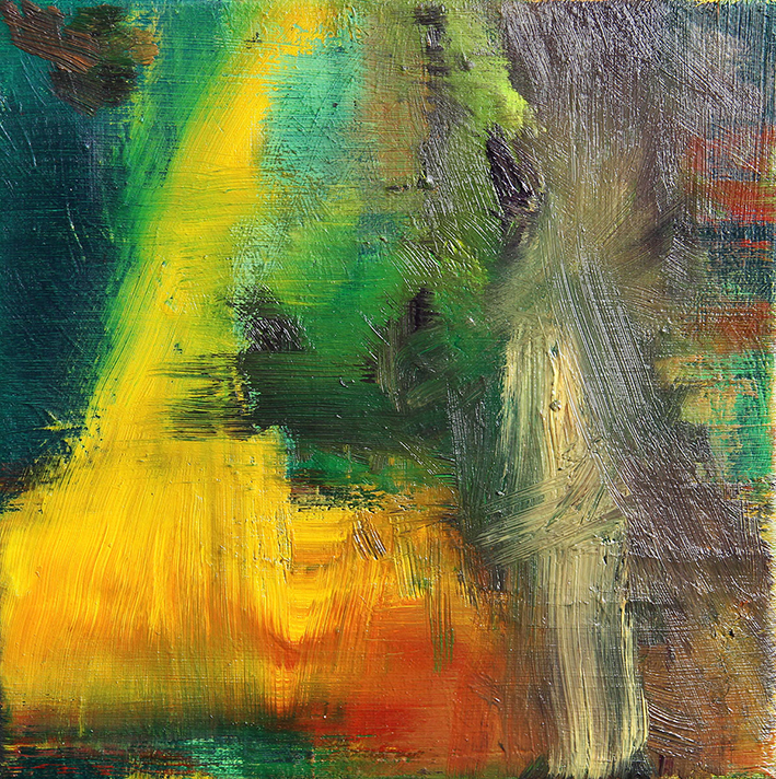 WZN, 2010 oil on canvas 20 x 20 cm, framed