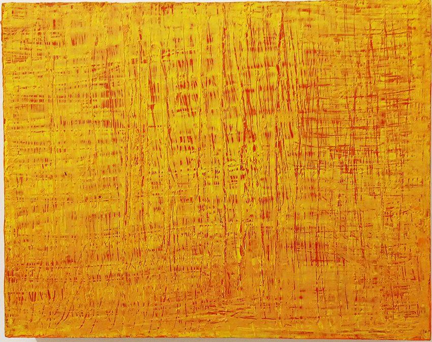 Chinesische Landschaft 5, 2013-14, Öl auf Holzkasten, 48 x 38 x 7