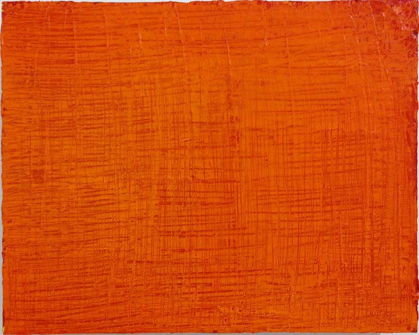 Chinesische Landschaft 1, 2013-14, Öl auf Holzkasten, 48 x 38 x 7