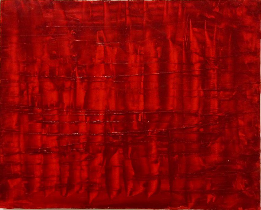 Chinesische Landschaft 3, 2013-14, Öl auf Holzkasten, 48 x 38 x 7